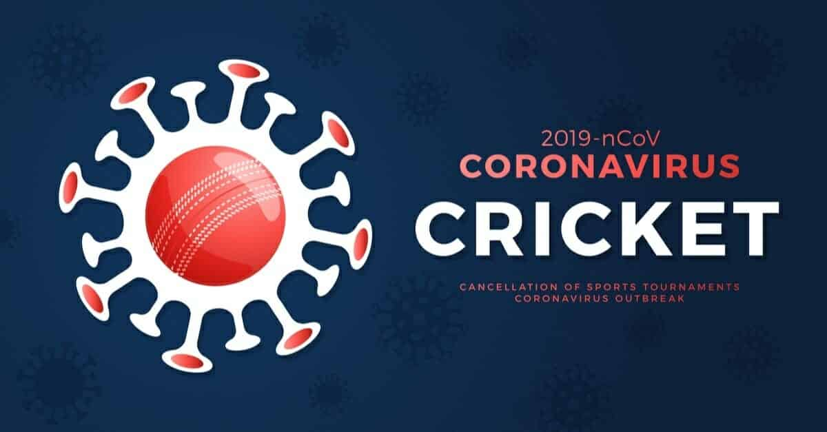 coronavirus covid19 cricket banner