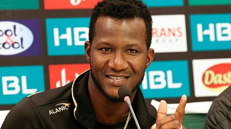 Darren Sammy is a two-time World T20 winning captain