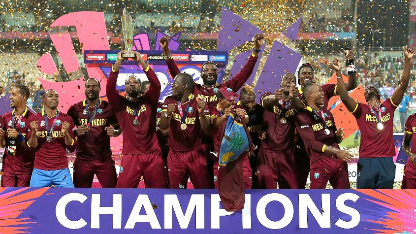 The West Indies are the defending champions (Credit: ICC)