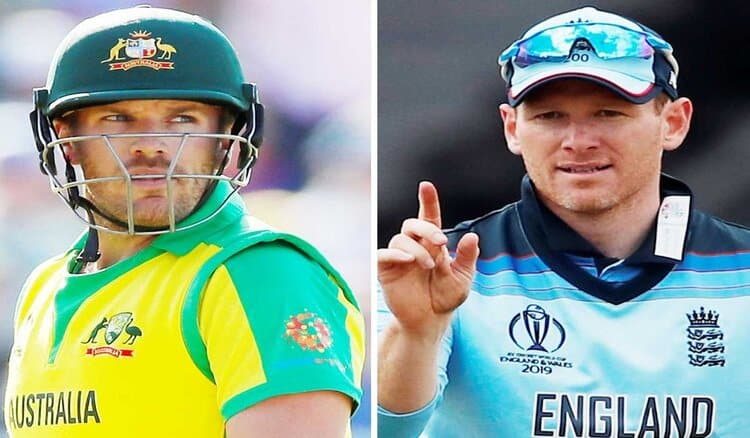 Aaron Finch and Eoin Morgan will lead the two sides in September