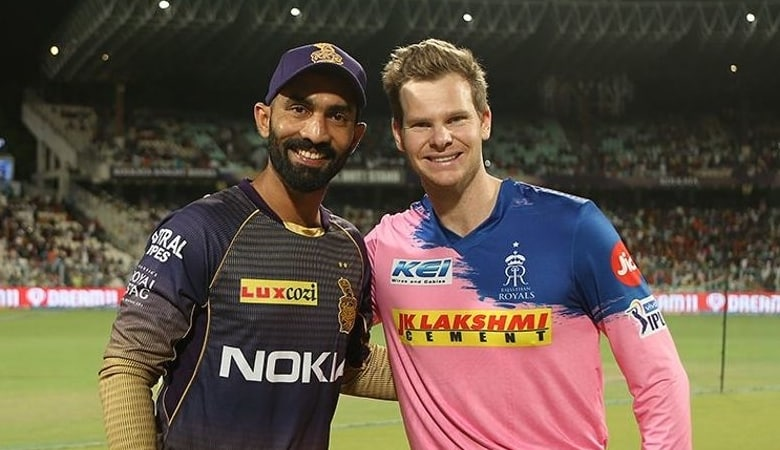 Steve Smith and Dinesh Karthik will lead the two sides