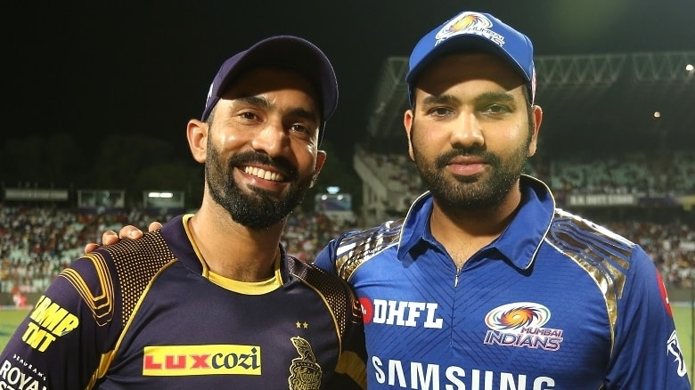 Dinesh Karthik's side kick off against the champions