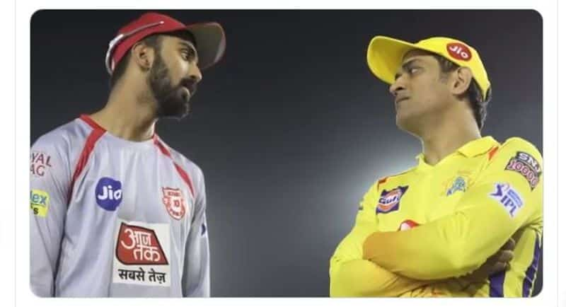 Former India teammates KL Rahul and MS Dhoni are captains