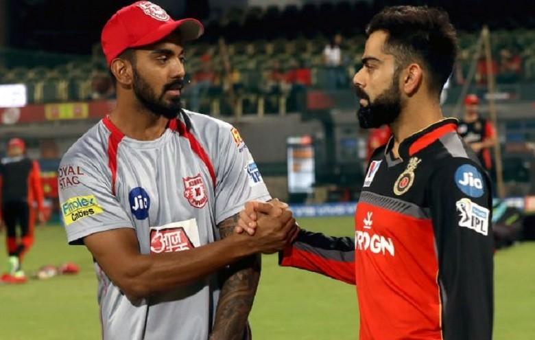 Former teammates KL Rahul and Virat Kohli face each other