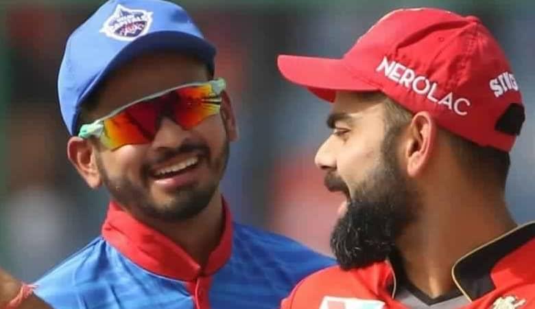Shreyas Iyer and Virat Kohli are international teammates