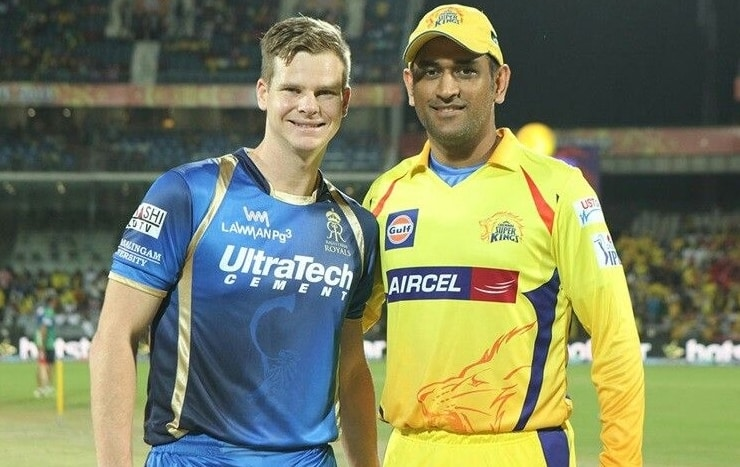 Steve Smith and MS Dhoni will be the two captains