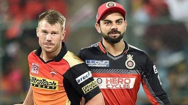 David Warner and Virat Kohli's sides will face off