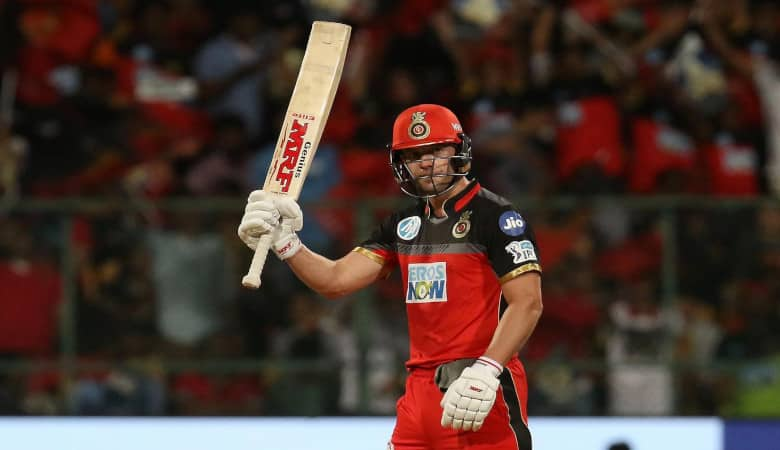 AB de Villiers starred for RCB last time out