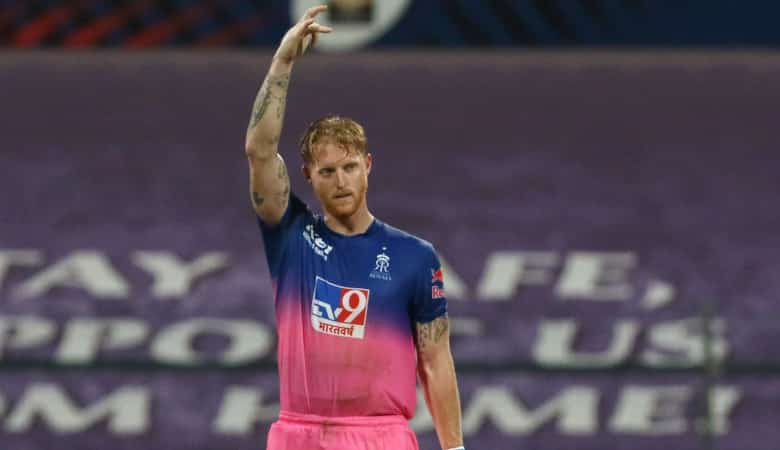 Ben Stokes hit his second IPL century against Mumbai Indians