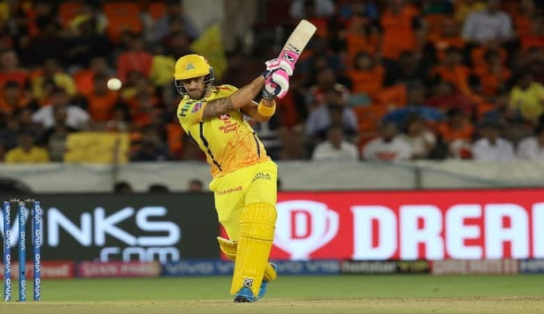 Faf du Plessis has been in top form for CSK