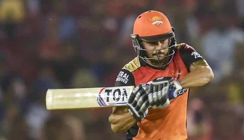 Manish Pandey led Sunrisers to victory over Rajasthan