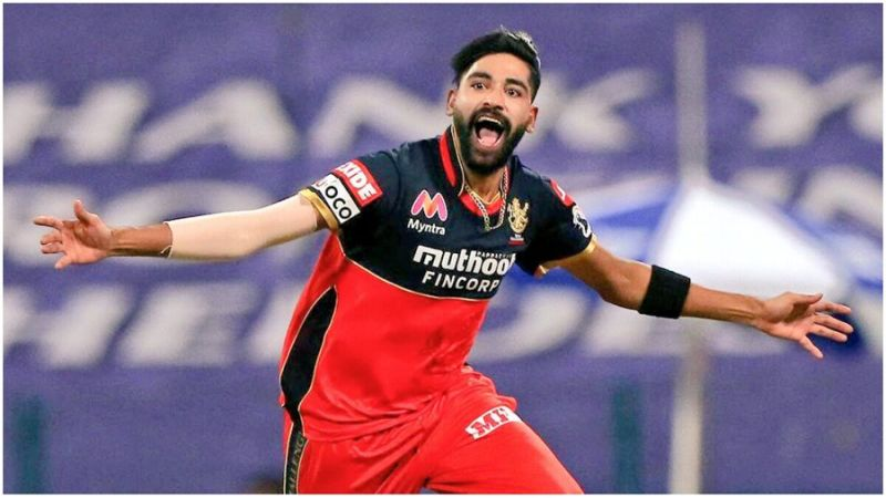 Mohammed Siraj earned a call-up for India following his IPL form