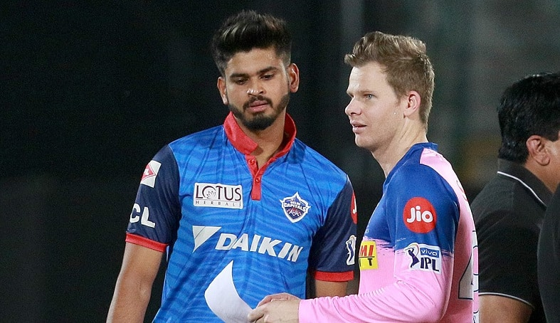 Steve Smith and Shreyas Iyer will lead the sides in Sharjah