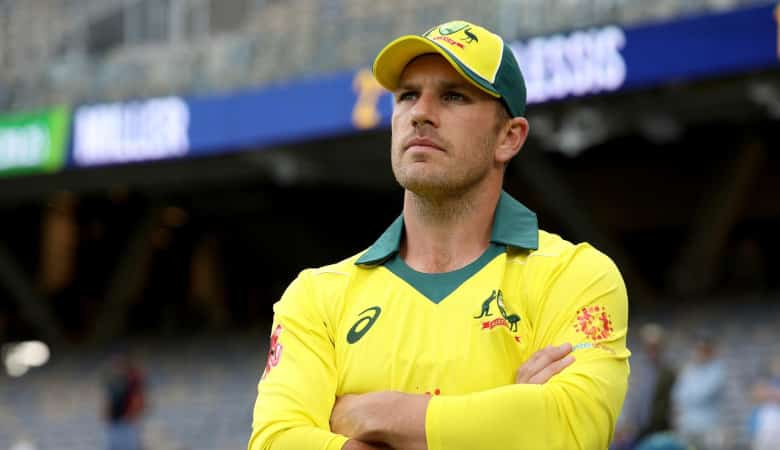 Aaron Finch will lead Australia in the series against India