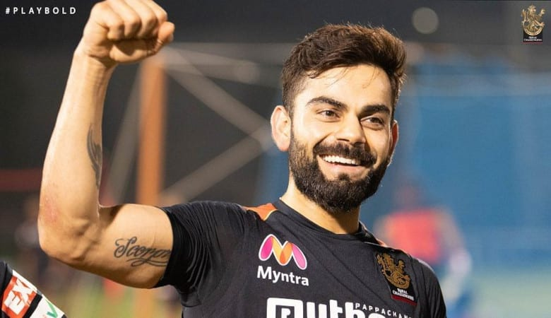 Virat Kohli is more popular than players such as David Warner and Ben Stokes