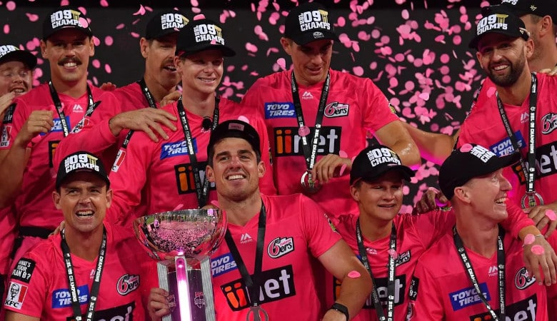 Sydney Sixers will be defending the Big Bash trophy
