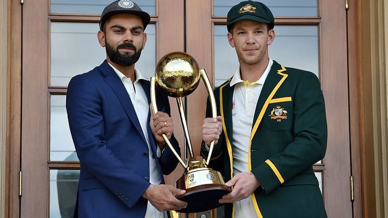 Tim Paine and Virat Kohli clashed in the previous meeting