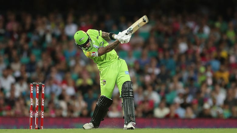 Alex Hales has been in stunning form for Sydney Thunder