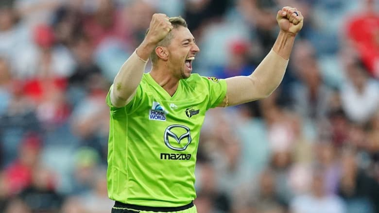 Daniel Sams was the lead bowling in the BBL last year