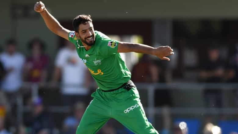 Haris Rauf has returned to the Stars after an impressive debut campaign