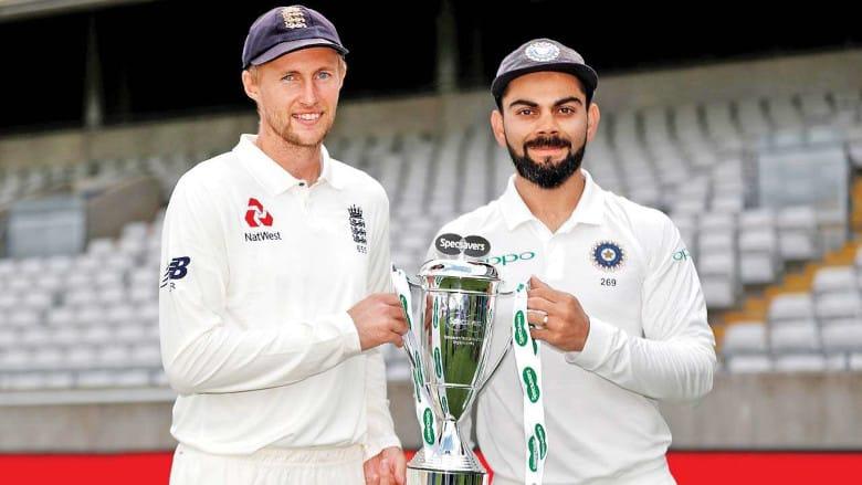 Joe Root and Virat Kohli are two of the world's leading batsmen