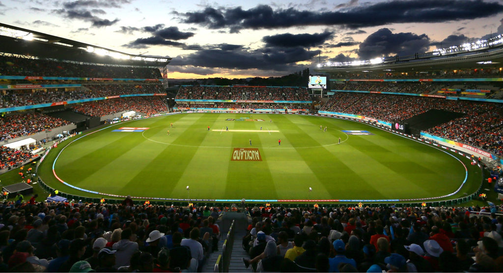 A packed Eden Park in Auckland, New Zealand.