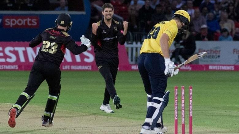 Colin Ackermann Leicestershire vs Derbyshire Vitality T20 Blast 2021