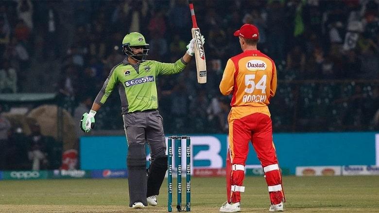 Mohammad Hafeez Lahore Qalandars PES vs LAH PSL 2021