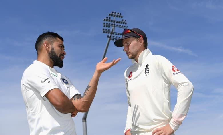 England vs India Virat Kohli Joe Root