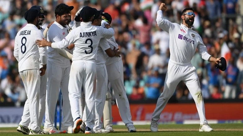 India win at The Oval against England after 50 years